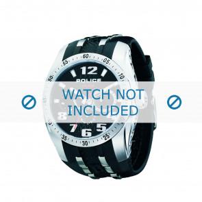 Police horlogeband PL-12087J-02 Rubber Zwart