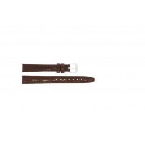 Lederen band croco lak bruin 10mm 082.02
