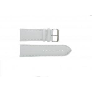 Echt lederen horloge band wit 32mm 271.09
