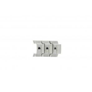 Fossil JR8142 Schakels Staal Zilver 20mm