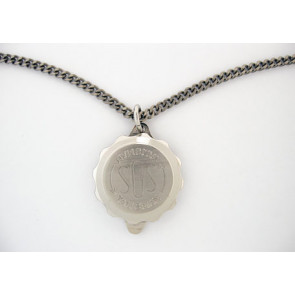 SOS talisman hanger met ketting Titanium SOSHK