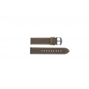 Timex horlogeband T49905 Leder Bruin 20mm