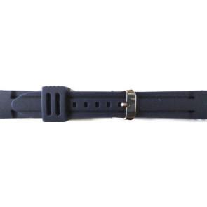 Horlogeband Universeel 253 Silicoon Blauw 26mm