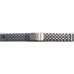 Staal band passend voor Swatch 19mm D1039