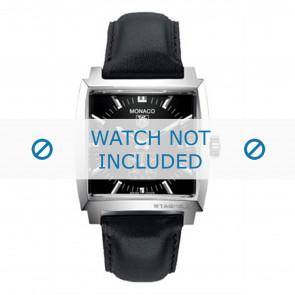 Horlogeband Tag Heuer FC6171 / B28814 (B28814) Leder Zwart