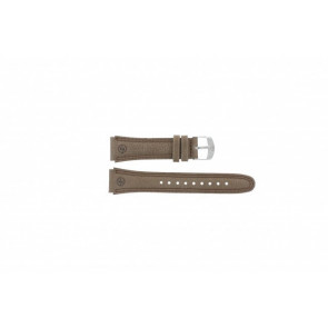 Timex horlogeband T44381 Leder Bruin 20mm