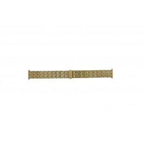 Morellato horlogeband U0131154 Staal Goud (Doublé) 20mm