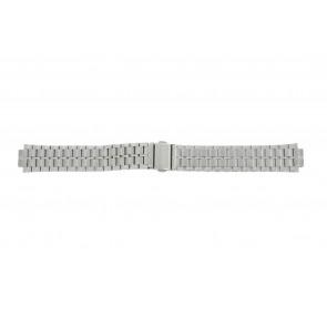 Lorus horlogeband VX43-X092 / RXN01DX9 Staal Zilver 18mm