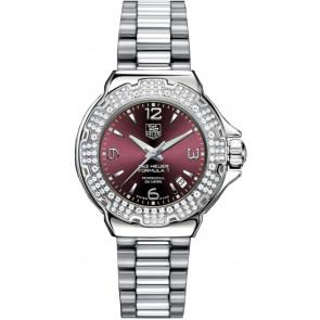 Horlogeband Tag Heuer WAC1219-BA0852 Staal Staal