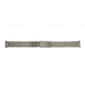 Horlogeband YD93 Titanium Zilver 14mm
