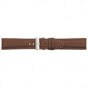 Poletto horlogeband leder cognac 22mm 540