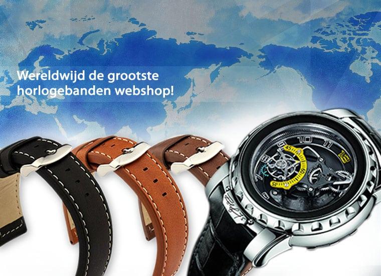 Op zoek naar een (originele merk) horlogeband?